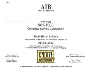 AIB Certificate